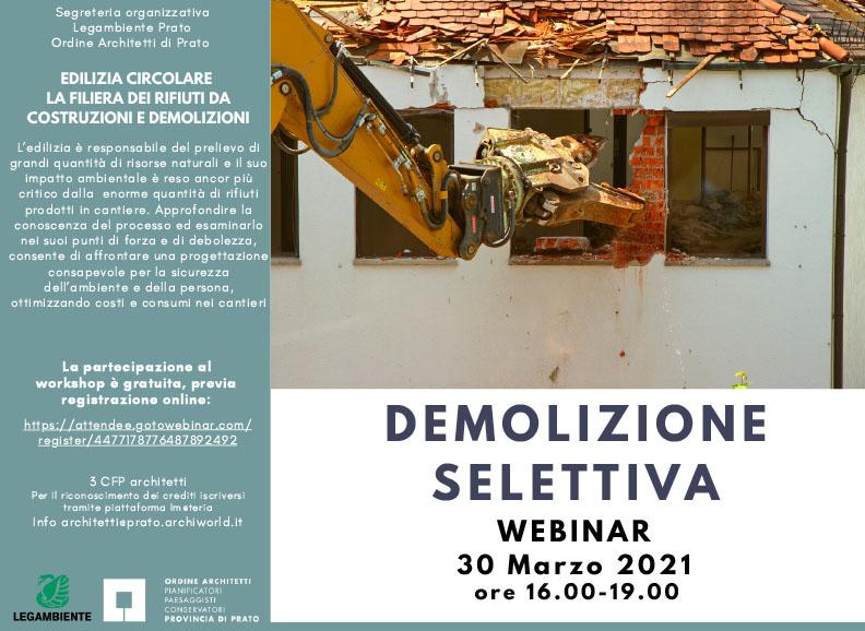 Workshop online: edilizia circolare (30 marzo)